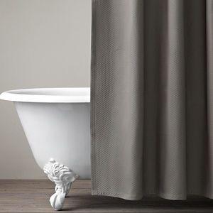 NWOT Restoration Hardware Matelasse Shower Curtain